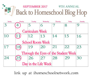Back to Homeschool Blog Hop iHomeschool Netwrok