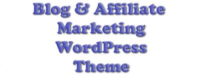 free Blog and Affiliate marketing WordPress theme