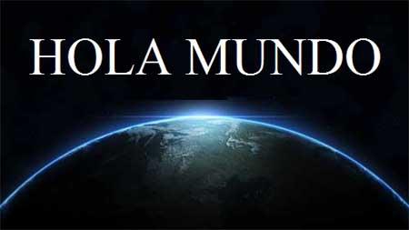 hola mundo en el lenguaje c