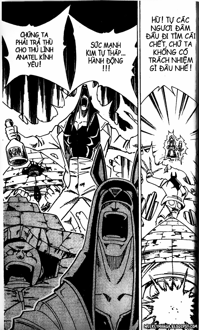 Shaman King [Vua pháp thuật] chap 125 trang 7