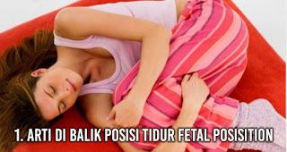 Arti di Balik Posisi Tidur Fetal Posisition
