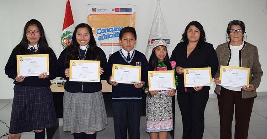 DRELM premió la creatividad literaria de los estudiantes de Lima Metropolitana - www.drelm.gob.pe