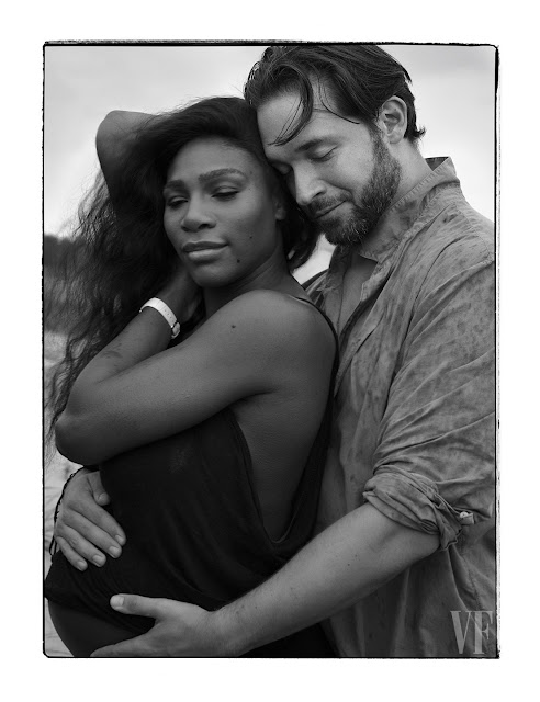 First and only pregnancy pictures of Serena Williams, celebrity news