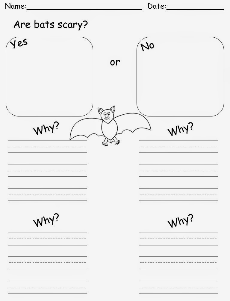 M.A.D. about first grade: Bats are a little freaky!