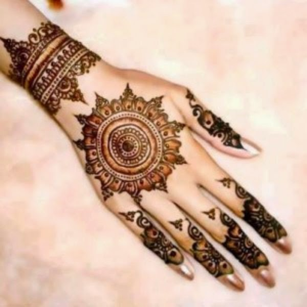 Mehndi Menu : Tikya mehndi designs henna