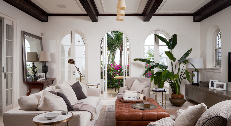 Palm Tree Decor For Living Room Greensboro Interior Design Window Treatments Greensboro Custom