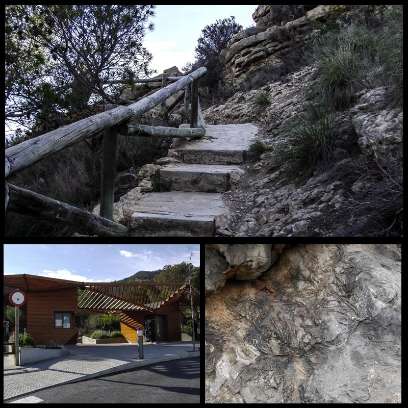 Serra Gelada: Fosiles, entrada y mirador