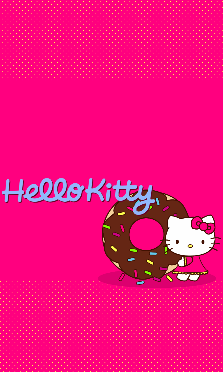 How To Make Iphone X Wallpaper Fit Iphone Blueberrythemes Hello Kitty Wallpapers 2