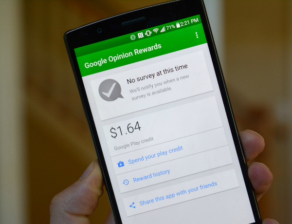 How to get free credit in the Google Play store to buy applications