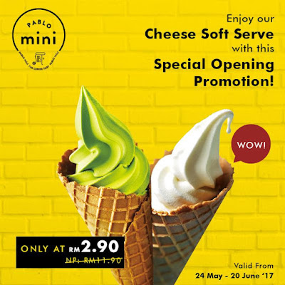 Pablo Cheesetart Malaysia Cheese Soft Serve IOI City Mall