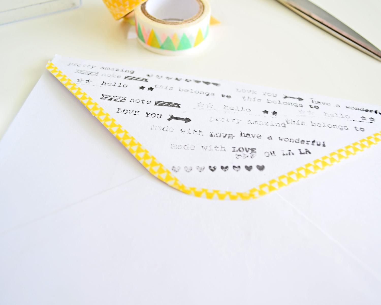 dekorowanie koperty