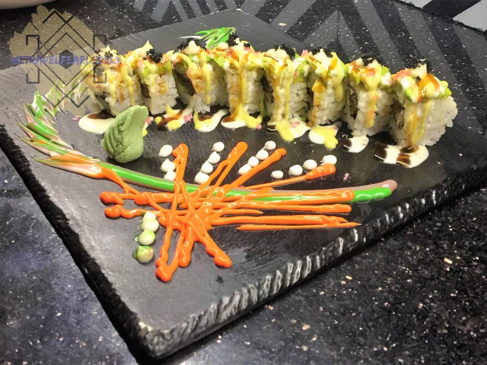 Avocado Maki (PHP480) in Soru Izakaya in Burgos Circle, BGC - WTF Review