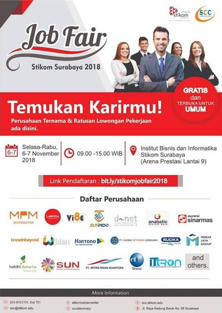 Job Fair Stikom Surabaya November