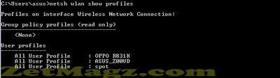 Cara Mudah Melihat Password Wifi Yang Terkoneksi di PC/Laptop Windows 7, 8, 8.1, 10