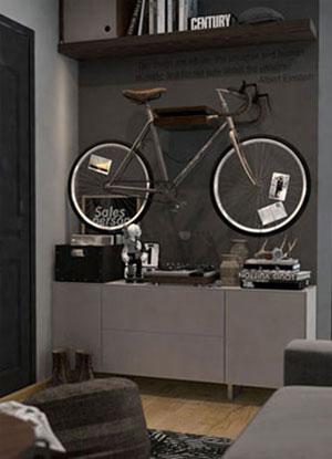 Bicicletas na Decoração 6