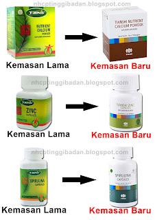 Susu Kalsium peninggi badan terbaik di dunia NHCP Tiens (Nutrient High Calcium Powder)