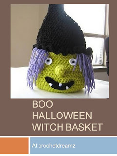 http://crochetdreamz.blogspot.ca/2011/09/boo-halloween-witch-basket-free-pdf.html#.VcJkZf3bJ3U