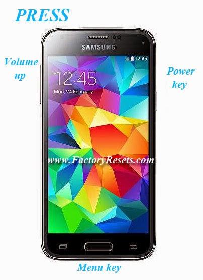 Hard Reset Samsung Galaxy S5 mini Duos SM-G800