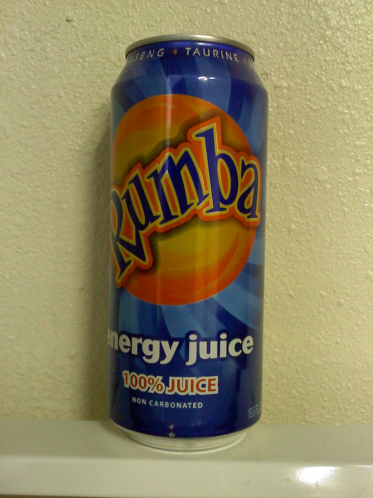 Caffeine Review For Rumba Energy Juice