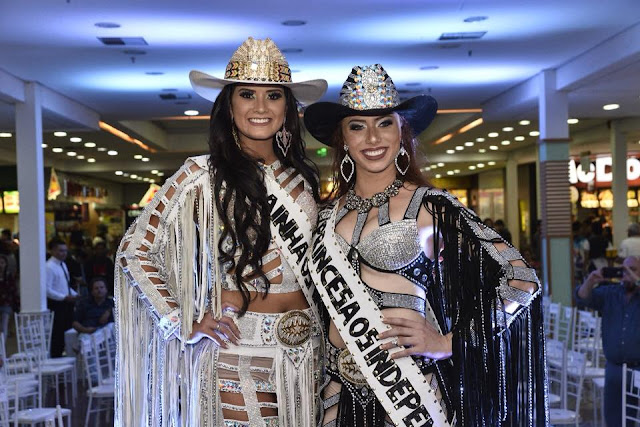 Representante da Golfe Class Yanca Souza foi eleita Rainha Os Independentes 2018 no North Shopping Barretos