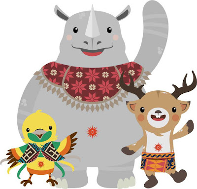 Maskot-asian-games-2018-format-cdr-dan-png
