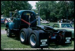Mack B-67 with contour cab - Photo by Duncan Putman