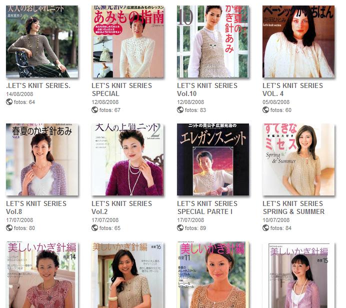 50 Revistas para Tejer de Picasa