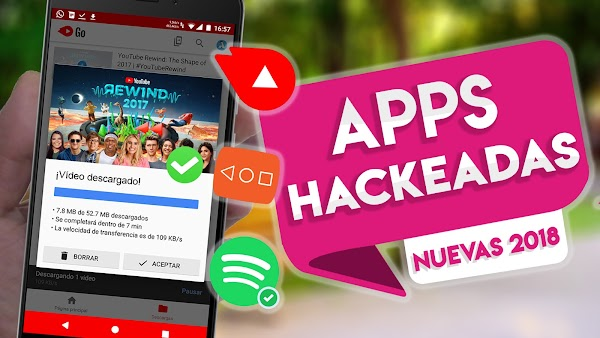 TOP 5! Apps Hackeadas Con SERVICIOS PREMIUM Para Android 2018  👌😱💎