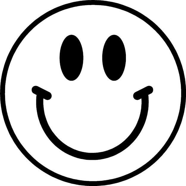 Smiley Emoji Coloring Pages