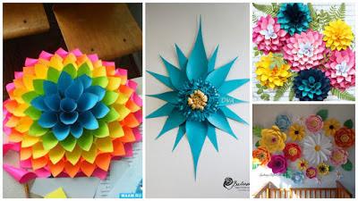 decoración-flores-papel