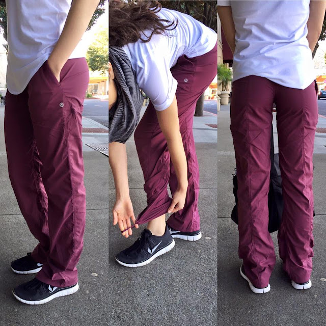 lululemon red-grape-studio-pant