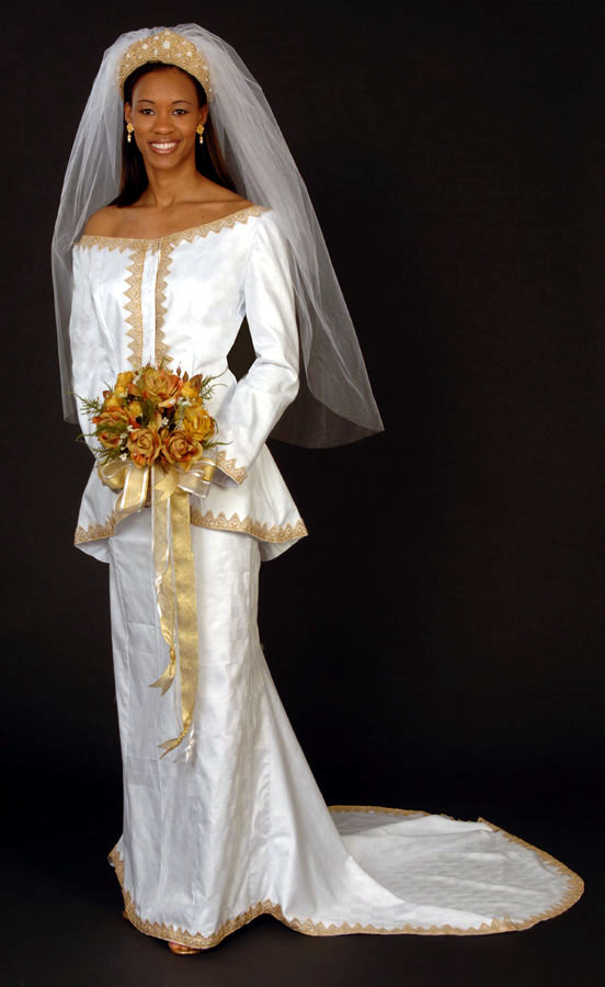 Pictures of African Wedding Dress