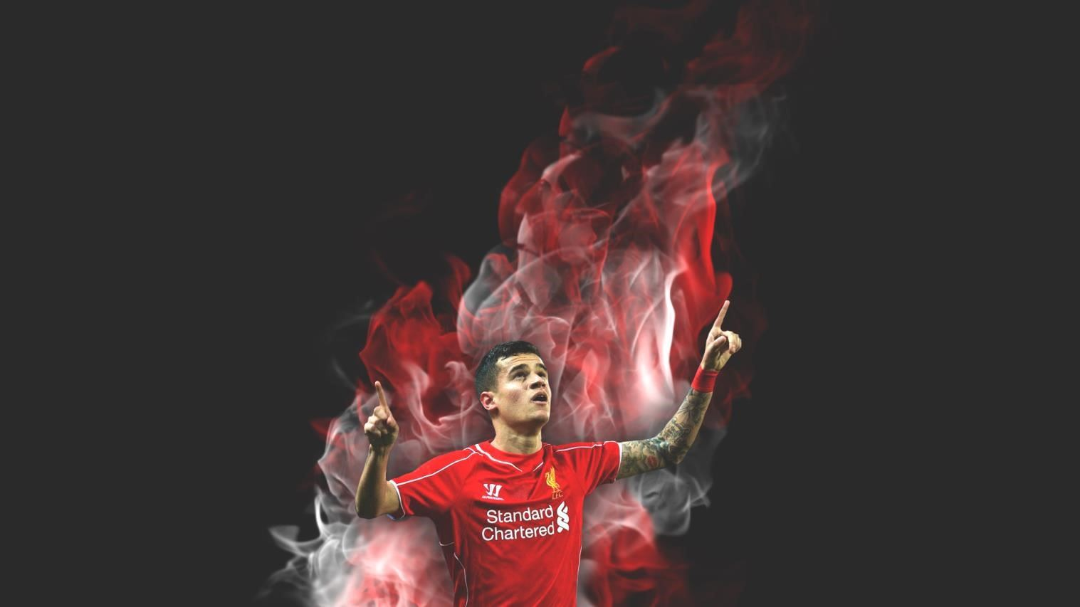 liverpool coutinho wallpaper