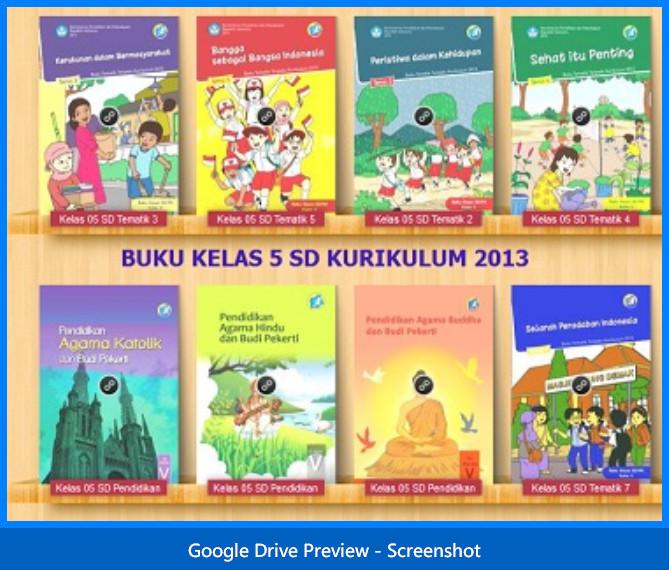 Buku Guru Dan Siswa Tematik Kelas 5 Sd Mi Semester 1 Dan 2 Edisi Revisi 2015 Dokumen Kurikulum 2013 Revisi Terbaru