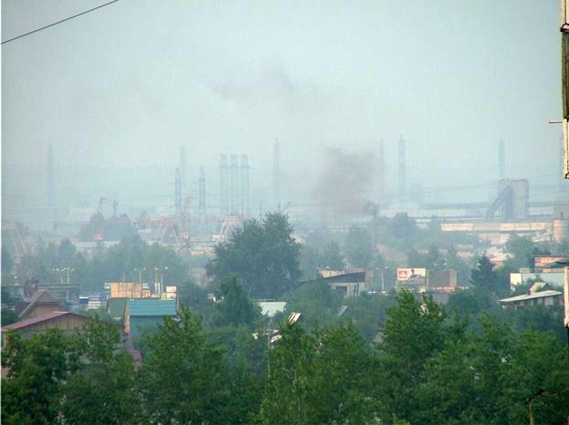 Путин поручил Медведеву разработать план по улучшению экологии в Красноярске