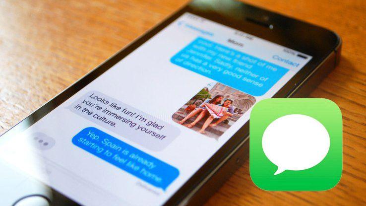 Cara Meneruskan Pesan Teks di iPhone