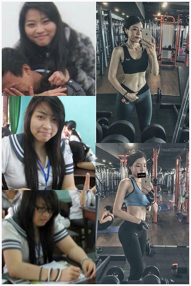 """Bất ngờ với dung nhan 5 năm trước của """"hotgirl phòng gym"""" Hà Nội từng được báo Trung Quốc ca ngợi"""