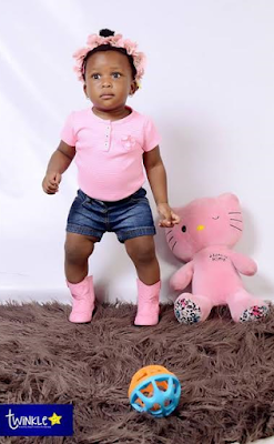 GOODLUCK JONATHAN'S GRANDDAUGHTER IS A YEAR OLDER TODAY - SEE HOW CUTE SHE LOOKS (PHOTOS)