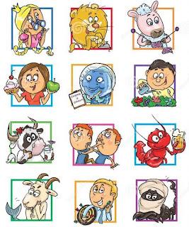 Gambar Zodiak Kartun Lucu Funny Zodiac HD Horoskop