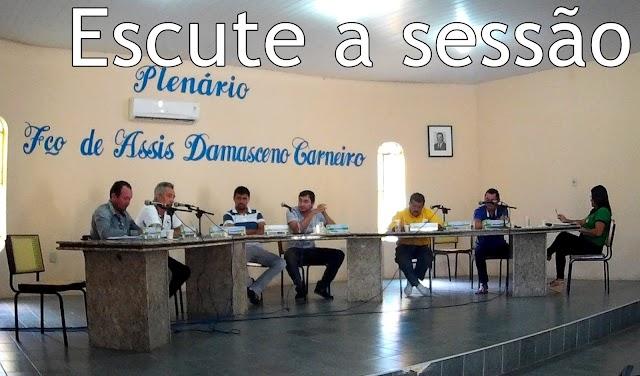 Escute o áudio da Sessão da Câmara Municipal de Chaval | Áudio separado por vereador | 30-05-16