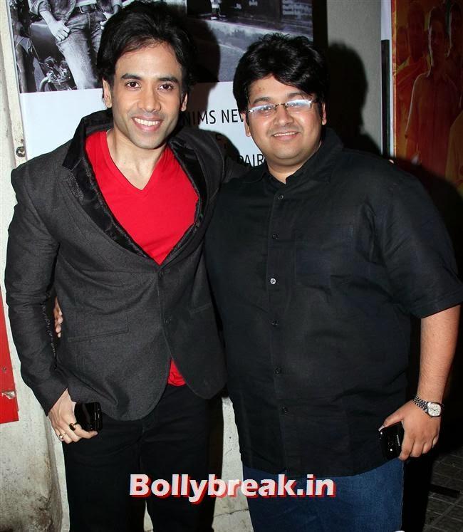Tusshar Kapoor, Gulaab Gang Movie Premiere Pics