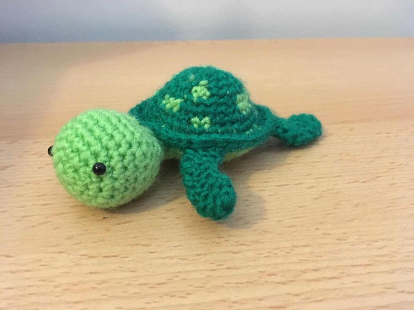 Amigurumi Crochet Turtle : Crochet... Amigurumi : Mini Turtle
