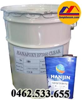 Sơn lót epxoy hệ lăn Hanjin Hanapoxy EP2060 Clear