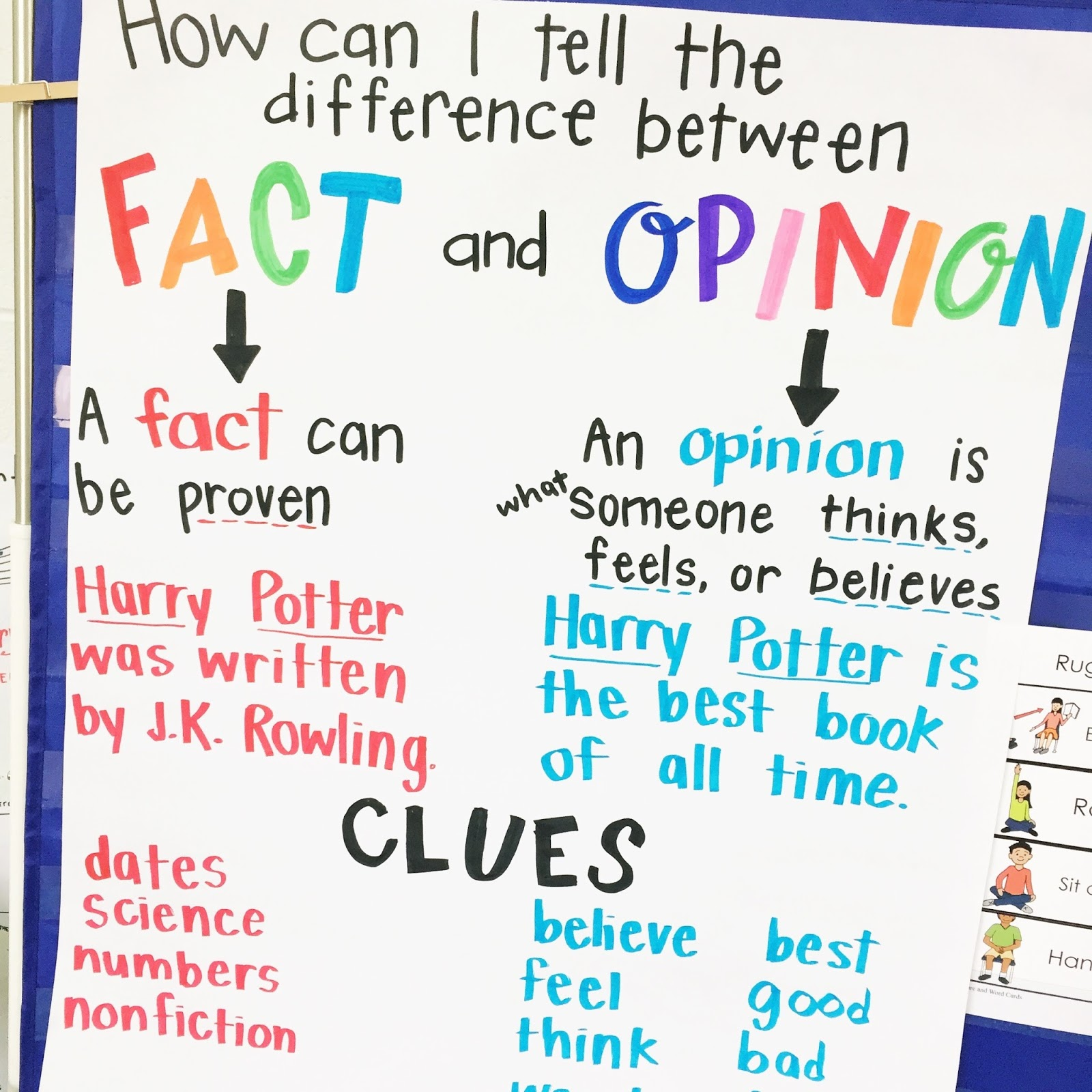 The Designer Teacher 4 Anchor Charts For Teaching Nonfiction