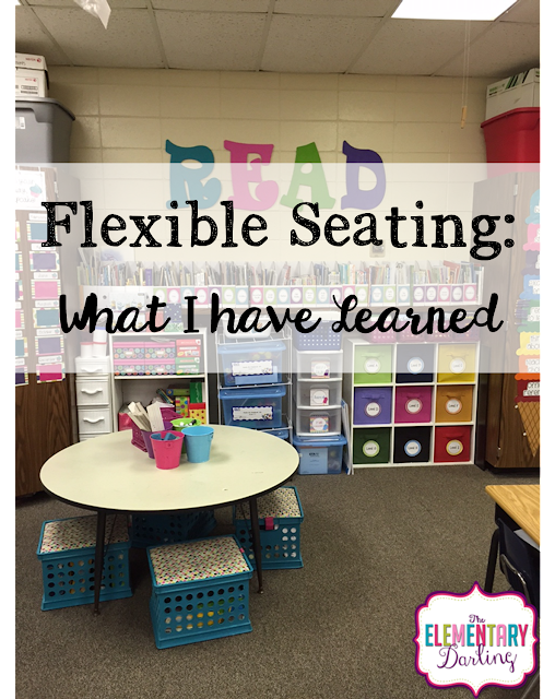 Junior Classroom Ideas ~ The elementary darling flexible seating what i have learned