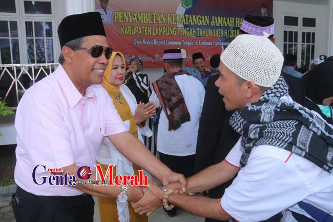 Kedatangan Jemaah Haji Lamteng Disambut Isak Tangis