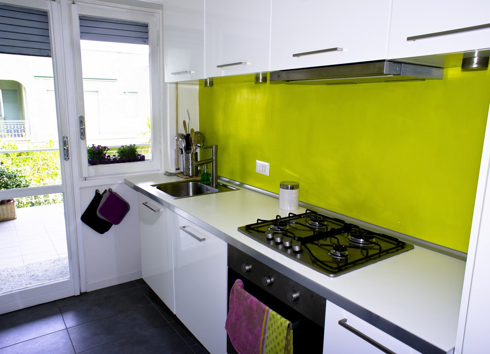 Cucina Verde Acido   Colori Per Pareti Cucina Interesting Cucina ...