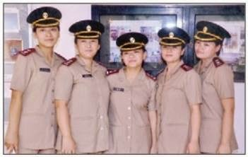 6 Gorkhali Nurses Commissioned as Lieutenant in the Indian Army