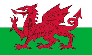 Bandera Gales, Wales flag, Cymru,