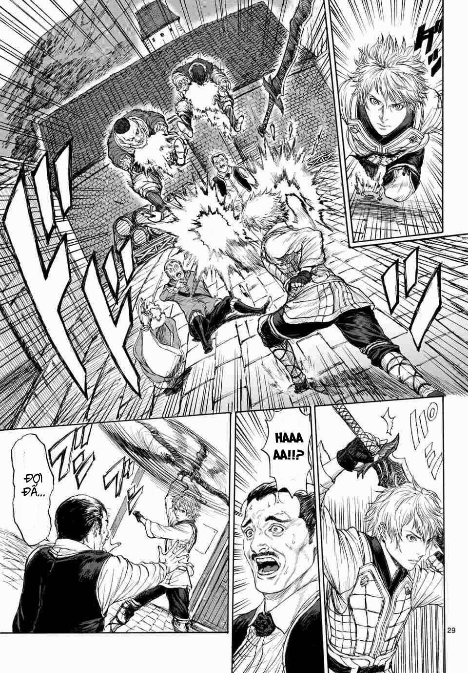 Monster X Monster chapter 1b trang 12